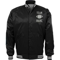 Personalized Football Coach Team Jacket | Available in other styles & colors.