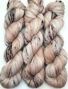 Hey, I found this really awesome Etsy listing at https://www.etsy.com/listing/488625286/hand-dyed-yarn-birchenstick-brown-tan