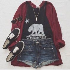 top black bear white canadian republic tumblr teenagers girl cute californian california summer spring fall outfits fall outfits winter outfits fashion style indie rock alternative sneakers outfit