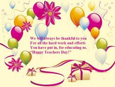 Top # 50 Awesome Teachers Day Images - Wishes Quotes Greetings Teacher Favorite Things, Best Teacher, Happy Teachers Day Message, Always Be Thankful, Wish Quotes, Inspirational Quotes About Love, Teachers' Day, Beautiful Roses, Quote Of The Day