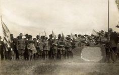 A  1911 photo of the Civil War Veterans, St. Johnsbury, Vermont