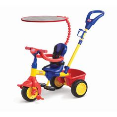 3 in 1 tricycle: Bryce would love this! I'm going to have to look for a tricycle for his birthday.