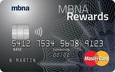 MBNA Rewards MasterCard Credit Card Review - GreedyRates