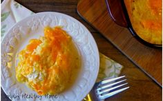 You are going to LOVE this cheesy, chicken and ranch spaghetti squash casserole! (It is grain and gluten free!)