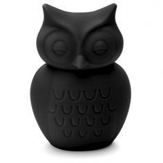 KG Design - owl money box in black Owl Wings, Money Bank, Swedish Brands, Black And White Design, Black White, Christmas Goodies, Trinket Boxes, Decoration, Being Ugly