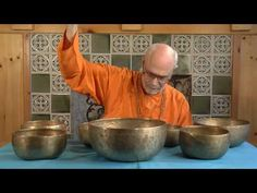 Love the sounds of these bowls & I use them in my practice as well.  This is Mark Handler playing Antique Tibetan Singing Bowls