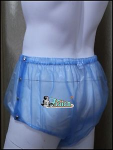 3 Pcs Adult Baby Incontinence PVC Velcro Diaper Nappy New PDM01 on PopScreen