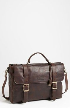 d7f6c06e6a Frye  Logan  Leather Flap Briefcase available at