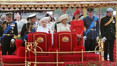 Kate Middleton red dress Diamond Jubilee