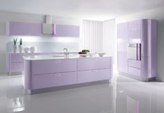 Why not a Pastel Kitchen ?