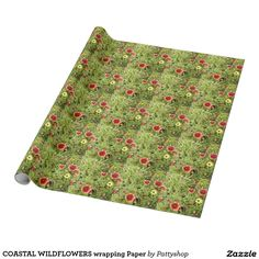 COASTAL WILDFLOWERS wrapping Paper