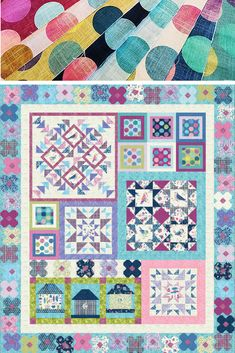 Here's how two quilters—one a beginner and the other advanced—approach the same block of the month quilt. Oh! And, they're sisters, too.