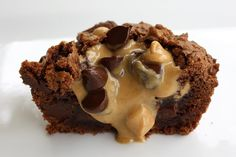 brownie peanut butter cups. Sub Brownie in a Bowl from Mrs. Criddles Kitchen and finish with this topping.