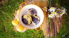 Traditional slovak dessert  Apricot poppy seed cheese