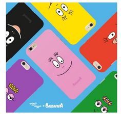 Wiggle Wiggle Barbapapa Cell Phone Case Cover Protector For  iPhone 6/6S/Plus #WiggleWiggle