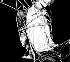 Dark anime boy Ero
