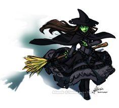 Elphaba the Wicked by YoukaiYume.deviantart.com
