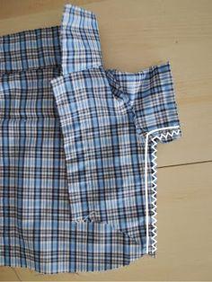 molde manga camisa perro