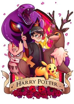 Harry Potter Characters and their of Pokemon. Art by: Lushie's Art Visit >> GeekDup. Fanart Harry Potter, Harry Potter Tumblr, Harry Potter Film, Arte Do Harry Potter, Harry Potter Cartoon, Cute Harry Potter, Harry Potter Artwork, Harry Potter Drawings, Harry Potter Pictures