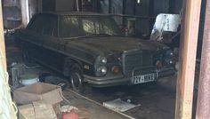 Abandoned Shop Find: 1972 Mercedes 280SE - http://barnfinds.com/abandoned-shop-find-1972-mercedes-280se/