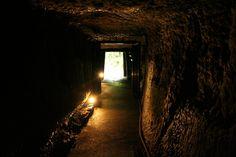 The Iwami Ginzan was a silver mine in the city of Ōda, Shimane Prefecture, on the main island of Honshū, Japan.石見銀山龍源寺間歩(まぶ)