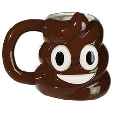 Poopy Poop Emoticon Ceramic Mug Emoji Face Drinks Coffee Tea Cup Novelty Gift #Retro