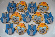 Transformers cookies by SweetSugarBelle