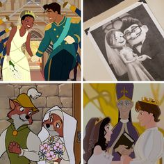 Which disney wedding are you? I got Princess and The Frogs ! Walt Disney, Disney Quiz, Cute Disney, Disney Magic, Disney Couples, Disney Cartoons, Disney Movies, Disney Characters, Disney Drawings