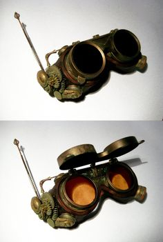 awesome steampunk goggles