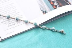 Embodying both the sky and the sea, Larimar promotes harmony, tranquility and emotional healing💙⠀ This beautiful Larimar bracelet is from our new collection and it's available now on our website. Larimar Jewelry, Fashion Photography Inspiration, Emotional Healing, Arrow Necklace, Sky, Website, Bracelets, Silver, Beautiful