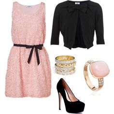 Pretty in Pink, created by kamrynkayla on Polyvore