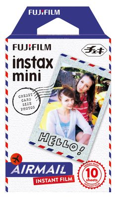 Instax Mini Film 10pk Airmail  SOY CUTE! #instaxwishlist