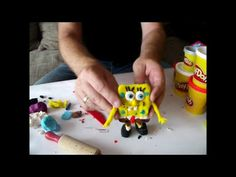 How to Make SpongeBob SquarePants with Play-Doh