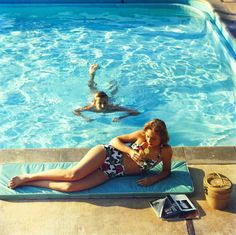 #inturotelcalaesmeralda we love the 60's 70's glamour of Slim Aaroms photographies