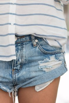 Denim Shorts   The Daily Dose