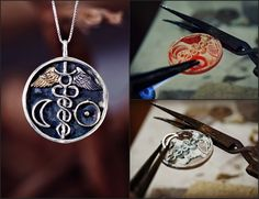 Alchemical Wedding New Edition - http://www.ka-gold-jewelry.com/p-products/marriage-of-light-talisman.php Will be assembled on the 31st of July 2016 between 02:11-02:50 while Mercury is in the first degree of Virgo and in sextile aspect to the moon which is in the first degree of cancer, the Sun is in Leo and Gemini rising. The talisman offers the opportunity to balance the opposites of our nature and 'alchemize' them together. This causes the emergence of our most pure, essential self, ...