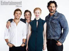 True Blood cast portraits