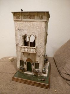Miniature Venice Canal House Rik Pierce Class Complete Fully Furnished   eBay