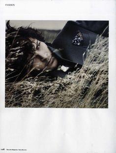 Nick Hadfield channels Heathcliff in Harrods Magazine (Dec/Jan 13). Ph. Tomo Brejc