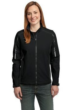 Port Authority Ladies Embark Water Resistant Soft Shell Jacket L307 #softshelljacket #womensouterwear