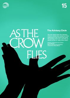 'as the crow flies' - new advisory circle album due july design by julian house, of course. Ghost Box, Jackdaw, Crow, Cover Art, Album, Music, House Design, Musica, Raven