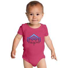 Warframe Lotus Symbol Baby Onesies