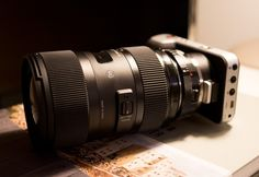 The ultimate Blackmagic Pocket Cinema Camera lens - Sigma 18-35mm F1.8 with Speed Booster » EOSHD.com