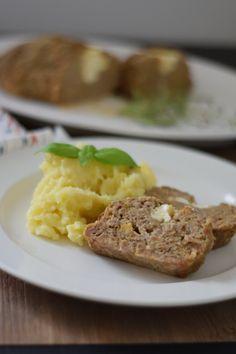Faschierter Braten mit Schafkäse - COOKING BAKERY Mashed Potatoes, Ethnic Recipes, Food, Cooking Recipes, Food Food, Meal, Essen, Hoods, Meals