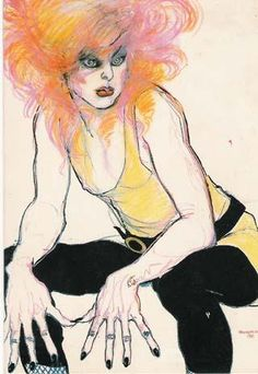 BODY & SPIRIT ENGINEERING: Jo Brocklehurst Love the knuckles - very Egon Schiele