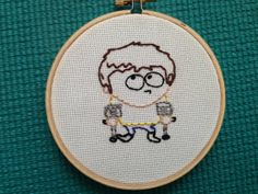 Hey, I found this really awesome Etsy listing at https://www.etsy.com/listing/160624047/south-park-jimmy-embroidery-hoop