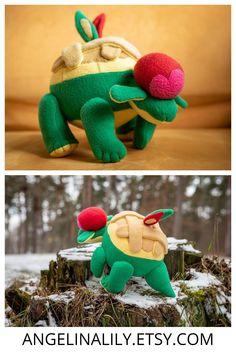 Monsters appletun plush appletun pokemon plush appletun toy pokemon plush appletun