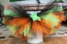 How To Make A Tutu (No Sew Tutorial) - A Million Moments