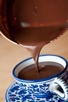 Coconut Cardamom Drinking Chocolate