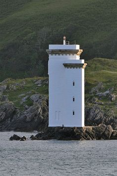 Fishing at Carraig Fhada lighthouse · Carraig Fhada Lighthouse · Kilnaughton Bay/ Port Ellen · Islay · Scotland(Pos: Saint Mathieu, Scotland Travel, Scotland Uk, Isle Of Islay, Lighthouse Pictures, Beacon Of Light, Light Of The World, Water Tower, Windmill